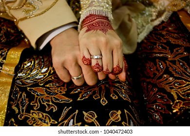 Javanese Bride and Groom Hands