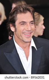 Javier Bardem at the 14th Annual Screen Actors Guild Awards at the Shrine Auditorium, Los Angeles, CA. January 27, 2008  Los Angeles, CA. Picture: Paul Smith / Featureflash