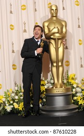 Javier Bardem at the 80th Annual Academy Awards at the Kodak Theatre, Hollywood. February 24, 2008 Los Angeles, CA Picture: Paul Smith / Featureflash