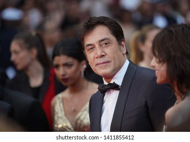 "Javier Bardem attends the opening ceremony and screening of ""The Dead Don't Die"" during the 72nd annual Cannes Film Festival on May 14, 2019 in Cannes, France."