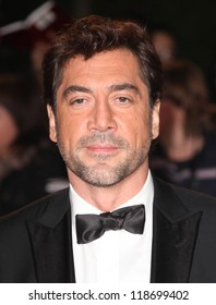 Javier Bardem attends the Royal World Premiere of 'Skyfall' at Royal Albert Hall, London. 23/10/2012 Picture by: Alexandra Glen
