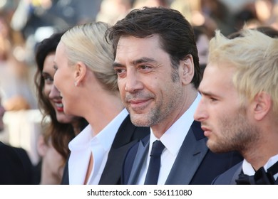 Javier Bardem attends 'The Last Face' Premiere during the 69th annual Cannes Film Festival at the Palais des Festivals on May 20, 2016 in Cannes, France.