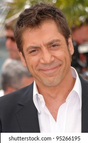 "Javier Bardem at photocall for his movie ""No Country for Old Men"" at the 60th Annual International Film Festival de Cannes.  May 19, 2007  Cannes, France.  2007 Paul Smith / Featureflash"