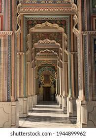 Jawahar Circle, Beautiful rainbow door in India