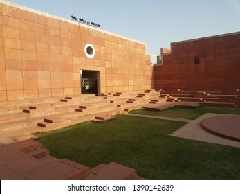 Jawahar kala kendra. It is a multi art center located in jaipur in india.