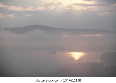 Jawor is a peak and massif in the Sanocko-Turczańskie Mountains, located next to the Lake Solina. Łoboźnicy valley is surrounding the peak and Lake Solina by the Gulf of Teleśnicka