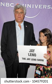 Jay Leno at the NBC Universal 2009 All Star Party. Langham Huntington Hotel, Pasadena, CA. 08-05-09