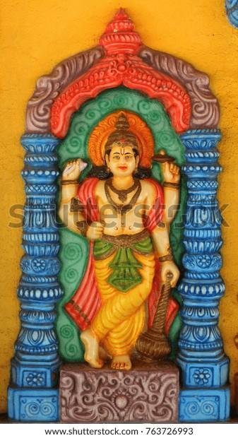 Jay Vijay Dwarpalas Lord Vishnu Durga Stock Photo (Edit Now
