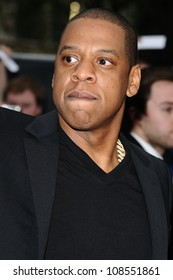 """Jay Z arriving for the """"Men in Black 3"""" premiere at the Odeon Leicester Square, London. 16/05/2012 Picture by: Steve Vas / Featureflash"""