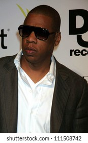 """Jay Z at the party celebrating the release of Rihanna's New Album """"Good Girl Gone Bad"""". Sugar, Hollywood, CA. 06-03-07"""