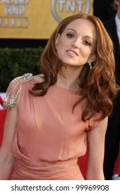 Jayma Mays at the 17th Annual Screen Actors Guild Awards, Shrine Auditorium, Los Angeles, CA. 01-30-11