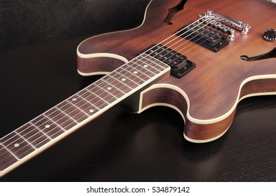 Jazz electric guitar.