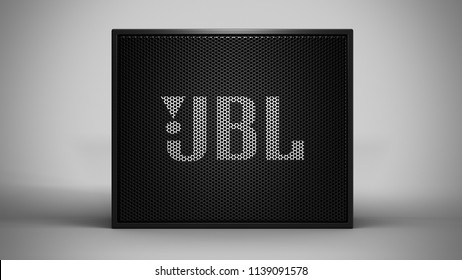 JBL Go -black -total -front -centered
