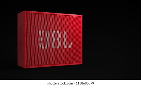 JBL Go - red -total -front 30°-left sided