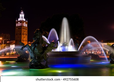 JC Nichols Memorial Fountain, Kansas City Missouri by the Plaza