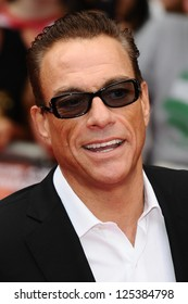 Jean Claude Van Damme arriving for the UK Premiere of The Expendables 2 at the Empire Cinema in, Leicester Square, London. 13/08/2012 Picture by: Steve Vas