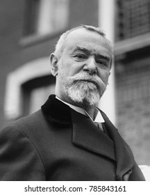 Jean Jules Jusserand was the French Ambassador to the United States from 1902 to 1924. He married an American citizen, Eliza Richard, the Paris educated daughter of a wealthy banker