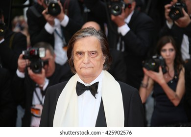 Jean Pierre Leaud attends the Closing Ceremony of the 69th annual Cannes Film Festival at the Palais des Festivals on May 22, 2016 in Cannes, France.