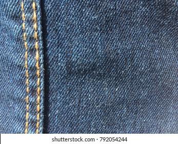 Jean seam vertical