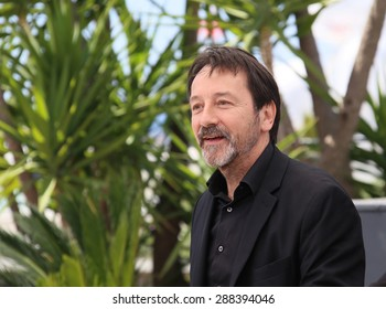 Jean-Hugues Anglade  attends the 'Je Suis Un Soldat' ('I Am A Soldier') Photocall during the 68th annual Cannes Film Festival on May 20, 2015 in Cannes, France.