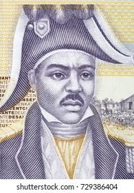 Jean-Jacques Dessalines portrait from Haitian money