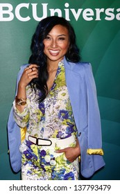 Jeannie Mai at the 2013 NBC Universal Summer Press Day , Langham Huntington Hotel, Pasadena, CA 04-22-13
