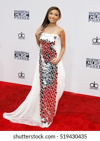 Jeannie Mai at the 2016 American Music Awards held at the Microsoft Theater in Los Angeles, USA on November 20, 2016.