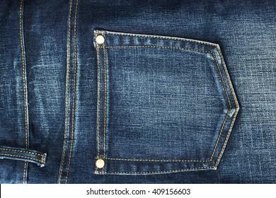 Jeans close-up