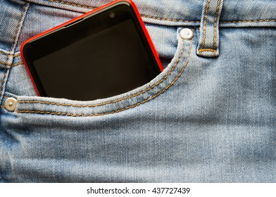 jeans phone. Phone in your pocket jeans .