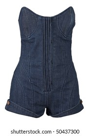 jeans shorts and vest
