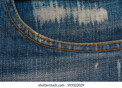 Jeans texture. Denim fabric background