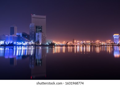 Jeddah City Center - Al Balad Night View, Jeddah Saudi Arabia