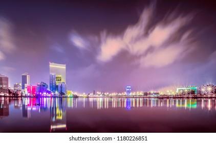 Jeddah City at Night