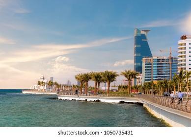 Jeddah Cityscape and Landmarks
