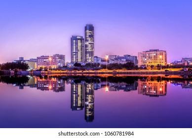 Jeddah Cityscape Landmarks