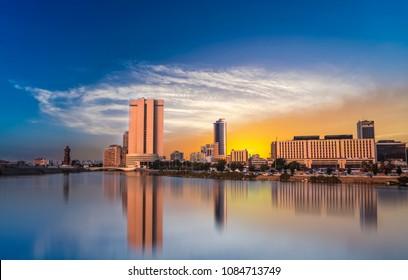 Jeddah Cityscape - Saudi Arabia
