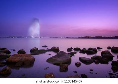 Jeddah Fountain - Saudi Arabia