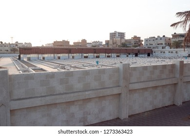 JEDDAH, SAUDI ARABIA - OCT 20 2018: A place where Eve or Havva is buried in Jeddah, pilgrims visit this place during hajj and umrah