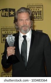 Jeff Bridges at the 15th Annual Critic's Choice Awards, Hollywood Palladium, Hollywood, CA. 01-15-10