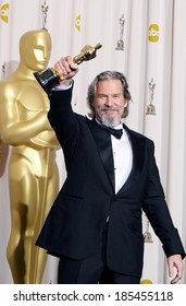 Jeff Bridges, Best Actor for Crazy Heart, 82nd Annual Academy Awards Oscars Ceremony-PRESS ROOM, The Kodak Theatre, Los Angeles March 7, 2010