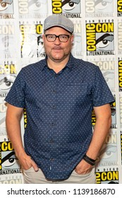 "Jeff Buhler attends Comic-Con International San Diego 2018 - Syfy's ""Nightflyers"" press room, San Diego, California on July 19, 2018"