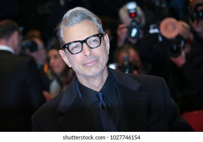 Jeff Goldblum attends the 'Isle of Dogs' premiere during the 68th  International Film Festival Berlin at Palace on February 15, 2018 in Berlin, Germany.