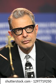 Jeff Goldblum speaks during the 'Isle of Dogs' press conference during the 68th Berlinale International Film Festival Berlin at Grand Hyatt Hotel on February 15, 2018 in Berlin, Germany.