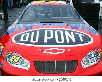 Jeff Gordon's Nascar, Race Car