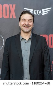 """Jeff Miller attends  Skyline Entertainment's  """"The ToyBox"""" Los Angeles  Premiere at Laemmle's NoHo 7, North Hollywood, California on September 14th, 2018"""