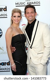 Jeff Timmons and wife Amanda Timmons at the 2013 Billboard Music Awards Arrivals, MGM Grand, Las Vegas, NV 05-19-13