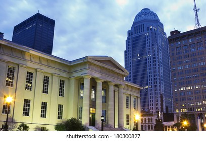 Jefferson County Building in downtown of Louisville, Kentucky