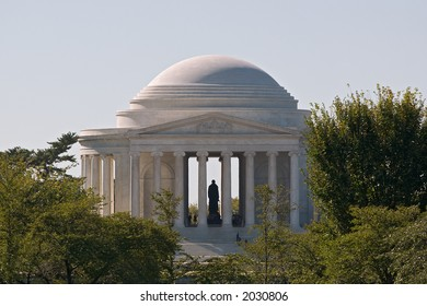 Jefferson Memorial, Morning Light