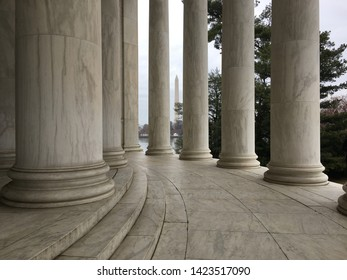 Jefferson Memorial Washington DC National Mall Springtime