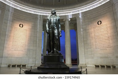 Jefferson Memorial in Washington DC operated by the National Park Service and open to the public
